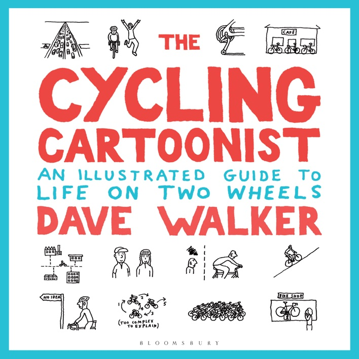 the cycling cartoonist dave walker cover